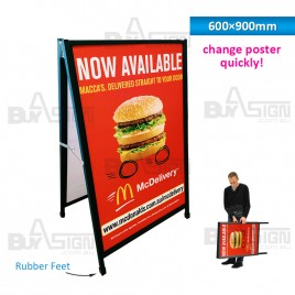 600x900mm A Frames with Slid-in Graphics