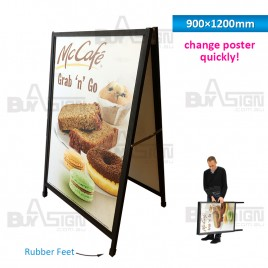 900x1200mm A Frames with Slid-in Graphics