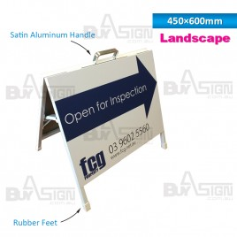 450x600mm Metal A Boards with Printed Graphics