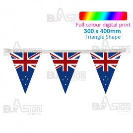 Large Bunting Flags - Triangle Shape