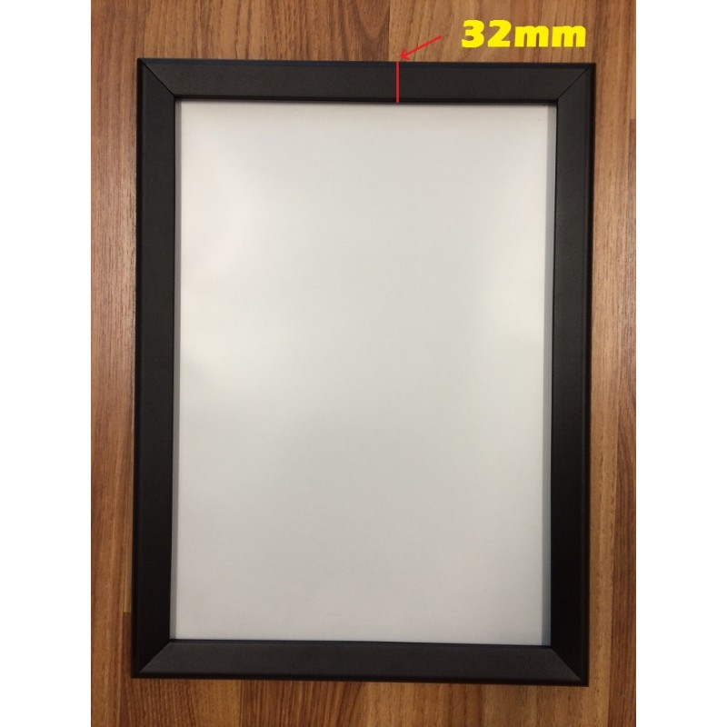 A3 Black Poster frame/clip frame